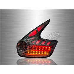 NISSAN JUKE 2010 - 2019 Smoke Lens LED Light Bar Tail Lamp (Pair) [TL-231]