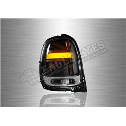 BMW MINI COOPER F56 2013 - 2019 Smoke / Clear / Red line LED Tail Lamp with Sequential Signal (Pair) [TL-320-1-SQ]