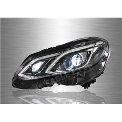MERCEDES BENZ E-CLASS W212 2009 - 2016 LED DRL Projector Head Lamp (Pair) [HL-051-BENZ]