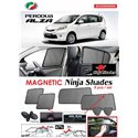 PERODUA ALZA 2009 - 2019 NINJA SHADES UV Proof Custom Fit Car Door Window Magnetic Sun Shades (6pcs)