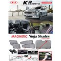 KIA K3 2014 - 2018 NINJA SHADES UV Proof Custom Fit Car Door Window Magnetic Sun Shades (5pcs)