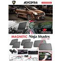 PROTON EXORA 2011 - 2014 NINJA SHADES UV Proof Custom Fit Car Door Window Magnetic Sun Shades (6pcs)