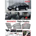 MERCEDES BENZ W211 E-Class 2005 - 2010 NINJA SHADES UV Proof Custom Fit Car Door Window Magnetic Sun Shades (5pcs)