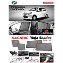 PERODUA VIVA  2007 - 2014 NINJA SHADES UV Proof Custom Fit Car Door Window Magnetic Sun Shades (4pcs)