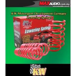 ORIGINAL KW GERMANY Front & Rear Lowered Sport Spring: PERODUA MYVI