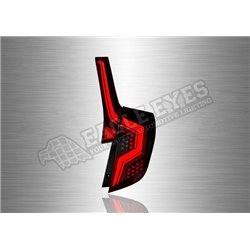HONDA JAZZ 2014 - 2019 Red & Smoke LED Tail Lamp with Sequential Signal (Pair) [TL-312-1]