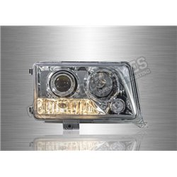 MERCEDES BENZ W124 1984 - 1995 Projector Head Lamp (Pair) [HL-002-BENZ-1]