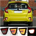 HONDA JAZZ / FIT 2014 - 2016 Rear Bumper LED Safety Brake Light Reflector with Turn Signal and Reverse Light