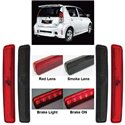 PERODUA MYVI SE1 2007 - 2008 Rear Bumper Reflector LED Brake Light (Pair) (Red/ Smoke)