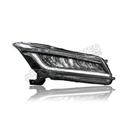 HONDA ACCORD G8 2008 - 2012 Black LED Sequential Signal Head Lamp (Pair) [HL-246]