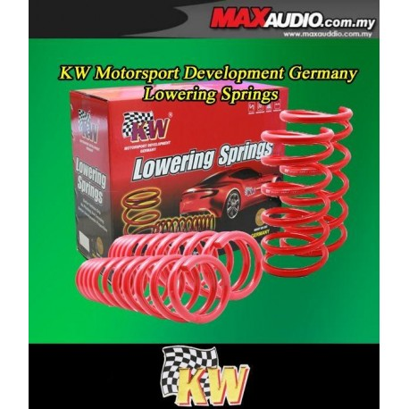 ORIGINAL KW GERMANY Lowered Sport Spring: PERODUA KANCIL 96-01