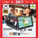 "SKY NAVI 9""/10"" 1RAM + 16GB Memory Android 2.5D Non - IPS 8.1 Marshmellow 1080p Full HD Double Din Display Player"