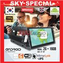 "SKY NAVI SPECIAL 9""/10"" 2RAM + 16GB Memory Android 2.5D IPS 8.1 Marshmellow 1080p Full HD Double Din Display Player"