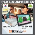 "PLATINUM SERIES 9""/10"" 2RAM + 16GB Memory Android 2.5D IPS 8.1 Oreo 4K Ultra HD Double Din Display Player"
