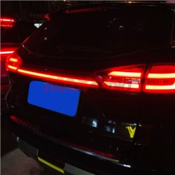 PROTON X70 Night Rider Running Sequential Blinking Rear Trunk Boot Bonnet Gate LED Light Reflector with Signal (Red Lens) (S1)