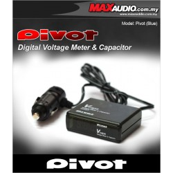 PIVOT V Capa Volt Meter In-Car Voltage Stabilizer Fuel Saver
