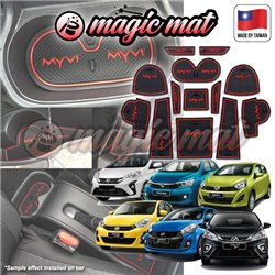 MOST CAR MAGIC MAT Custom Fit Interior Door Panel Console Cup Water Holder Non Slip Slot Mat Pad