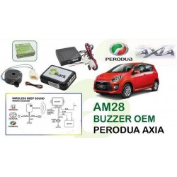 PERODUA AXIA 2014 - 2016 A-MARK OEM Alarm Siren Buzzer Like TOYOTA Sound [AM28]