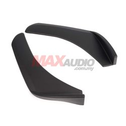 Front Deflector Spoiler Side Splitter 502 Rear Bumper Diffuser Canard Lip Body Shovels (pair)