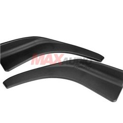 Front Deflector Spoiler Side Splitter 504 Rear Bumper Diffuser  Canard Lip Body Shovels (pair)