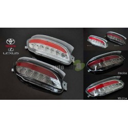 TOYOTA HARRIER RX330 2003 - 2008/ LEXUS RX350 2009 - 2014 (White or Smoke) Rear Bumper Reflective LED Light 1 Pair