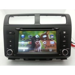 "PERODUA MYVI Lagi Best 2011 - 2014 DLAA 7"" Double Din DVD MP3 CD USB SD BT Player with GPS Free Rear Camera & TV Antenna"