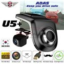 SKY NAVI U5+ Full HD 1080P Front n Rear Driving Video Recorder Dash Camera DVR w/ ADAS System *Upgradeable for Android Player