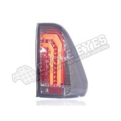 TOYOTA HILUX REVO 2015 - 2020 Smoke Black Lens 3D Style LED Tail Lamp [TL-337]