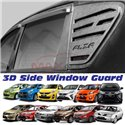 MOST PERODUA PROTON ABS 3D Rear Door Side Window Triangle Glass Cover Guard Protector (Pair)