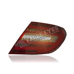 MERCEDES BENZ C-Class W204 2007 - 2014 OE Look Black Lens LED with Sequential Signal Light Tail Lamp (Pair) [TL-061-BENZ-SQ]
