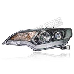HONDA JAZZ GK 2014 - 2020 RS Style LED Projector Head Lamp (Pair) [HL-269]