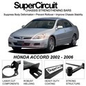 HONDA ACCORD 2002 - 2006 SUPER CIRCUIT Chassis Stablelizer Strengthening Racing Safety Strut Bars