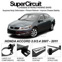 HONDA ACCORD 2.0/2.4 2007 - 2011 SUPER CIRCUIT Chassis Stablelizer Strengthening Racing Safety Strut Bars
