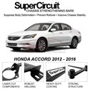 HONDA ACCORD 2012 - 2016 SUPER CIRCUIT Chassis Stablelizer Strengthening Racing Safety Strut Bars