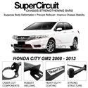HONDA CITY GM2 2008 - 2013 SUPER CIRCUIT Chassis Stablelizer Strengthening Racing Safety Strut Bars