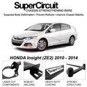 HONDA Insight (ZE2) 2010 - 2014 SUPER CIRCUIT Chassis Stablelizer Strengthening Racing Safety Strut Bars