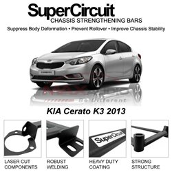 KIA Cerato K3 2013 SUPER CIRCUIT Chassis Stablelizer Strengthening Racing Safety Strut Bars