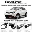 NISSAN Juke (F15) 2010 - 2018 SUPER CIRCUIT Chassis Stablelizer Strengthening Racing Safety Strut Bars