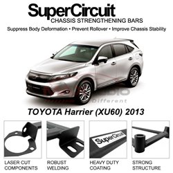 TOYOTA Harrier (XU60) 2013 SUPER CIRCUIT Chassis Stablelizer Strengthening Racing Safety Strut Bars