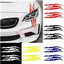Monster Claw Car Bumper Body Exterior Pre-cut Waterproof Personalized Styling Sticker Decal (2pcs/Set)