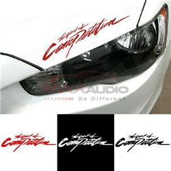 The Spirit Of Competition Car Bumper Body Exterior Pre-cut Waterproof Personalized Styling Sticker Decal