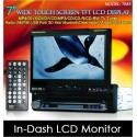 "DLAA 7"" In-Dash Touch Screen TFT Monitor DVD/ USB/ SD/ TV/ GPS Input [7685]"