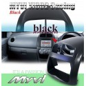 MYVI Black High Quality Hard Double Din Casing [YJ802 Black]