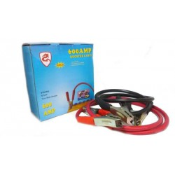 High Voltage 600 AMP Thick Battery Booster Cable Engine Jump Start Kit