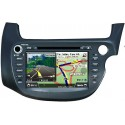 "HONDA JAZZ GE 2008 - 2013 8"" DLAA Double Din DVD BT SD USB CD Player with GPS FREE Rear Camera & TV Antenna"