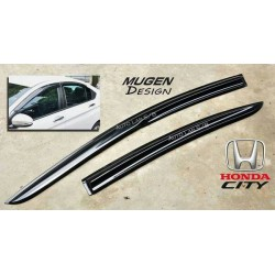 NEW HONDA CITY 2014 Mugen M5 Premium Quality Anti UV Light Door Visor (AL)