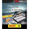 ORIGINAL BOSCH Super Fuel Saving Air Filter: PERODUA KEMBARA