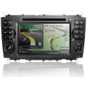 "MERCEDES BENZ W203 C-Class 2006 - 2008 DLAA 7"" Double Din DVD VCD MP3 CD USB SD Player with GPS Free Rear Camera & TV Antenna"