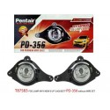 PERODUA MYVI Lagi Best 1.3/ 1.5 2011 - 2015: TRIO Super Bright OEM Fog Lamp Spot Light with Bulb [T87583]