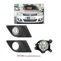 PROTON SAGA FL, FLX, SV: TRIO Super Bright OEM Fog Lamp Spot Light with Bulb with Cover [T87385]